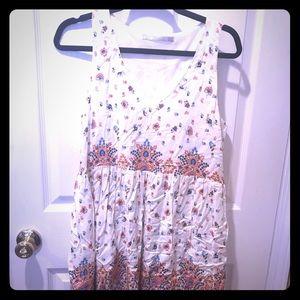 Zara beautiful floral summer dress!